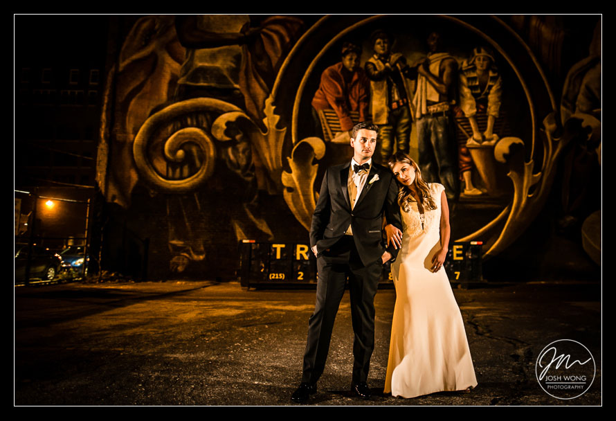 Wedding at Vie by Cescaphe, St. John Baptist Church, and City Hall Philadelphia by Philadelphia Wedding Photographer Josh Wong Photography