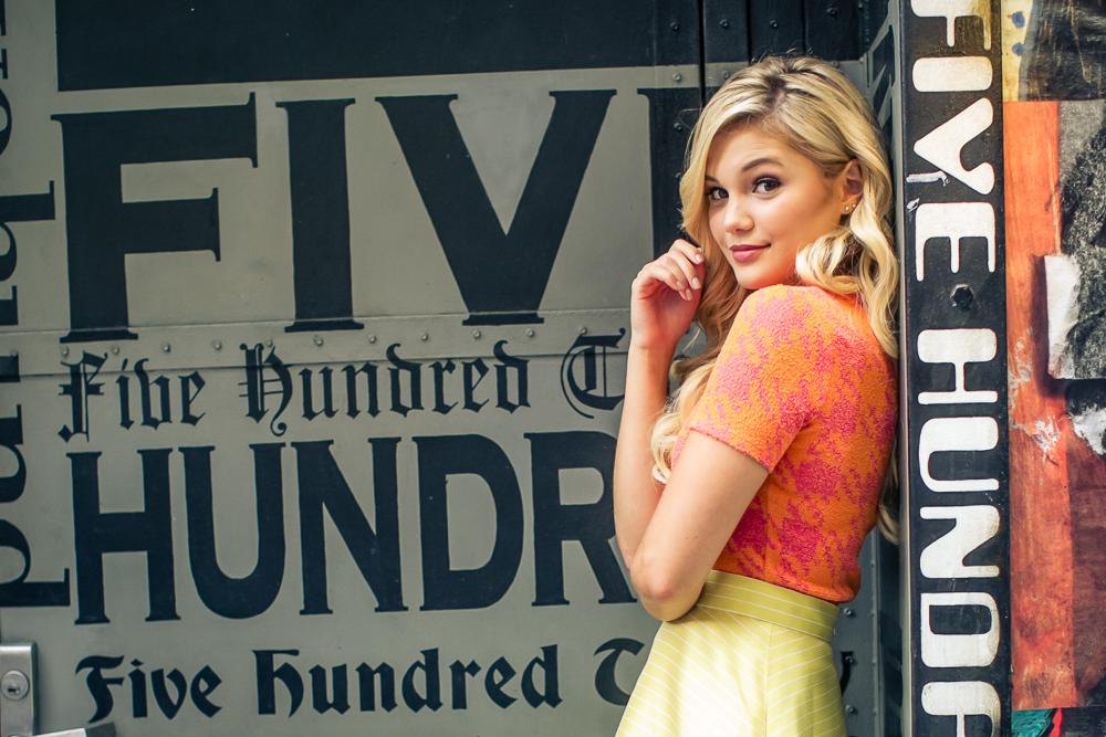 Olivia Holt. Insider Magazine Photoshoot. photography by Josh Wong