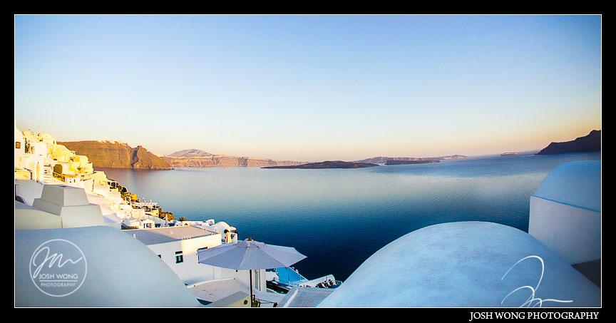 Destination Weddings: Greece, Athens, and Santorini by destination wedding photographer Josh Wong Photography