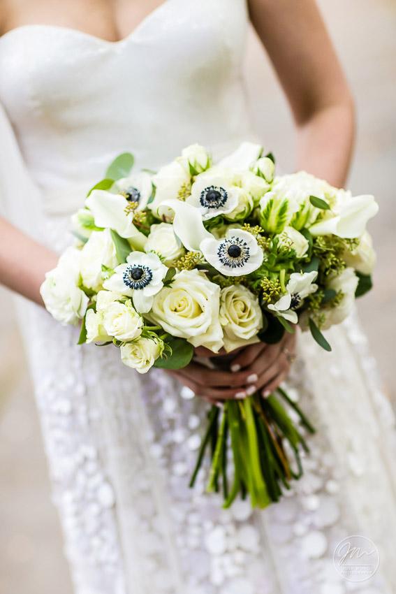 The bride's bouquet.  Conservatory Garden Central Park Conservancy Weddings by Central Park Wedding Photographer Josh Wong Photography