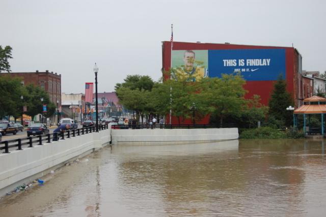 Findlay Flooding  Josh Woodward