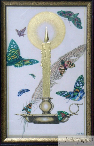 Josie Brown Calligraphy Heraldry Illumination  Gilding