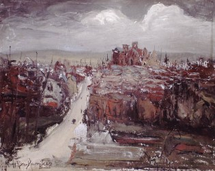 Albert (Somme), Route d'Amiens 1920