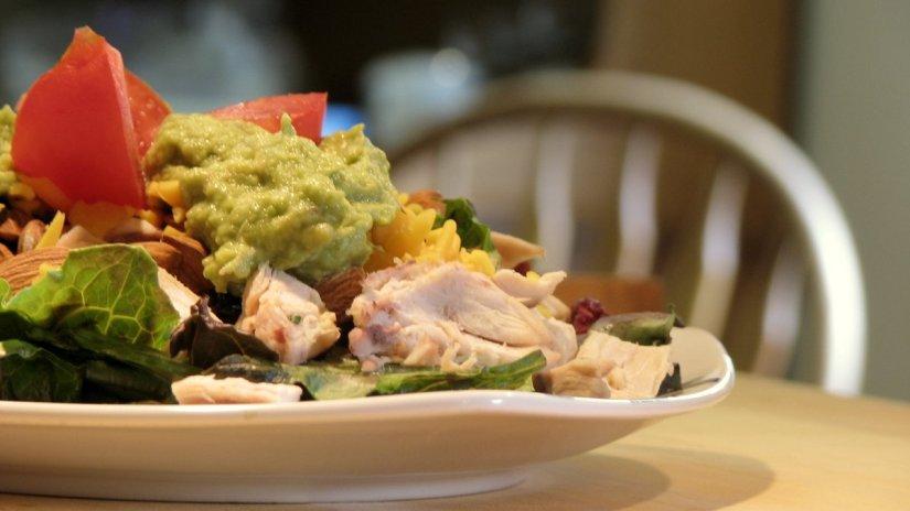 Summer Chicken Avocado Salad