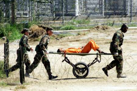 Prisoner transported to Guantanamo Bay torture camp