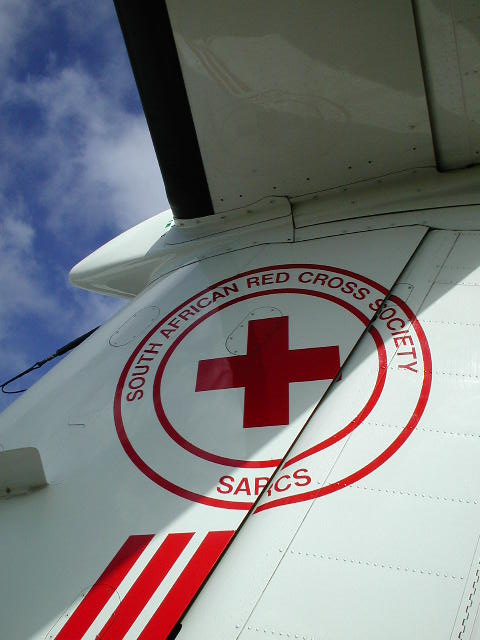 The Red Cross Flying Doctor service