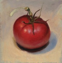 Tomato in lamp light - Jos van Riswick Still life ...