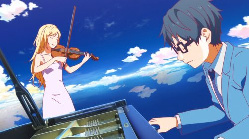 anime that will actually make you cry - your lie in april