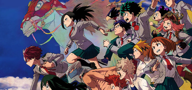 My Hero Academia Gets Original Anime Film, Airs Summer 2018