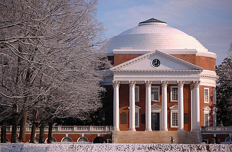 Universidad de Virginia, fundad por Jefferson. Foto: G. Gorla (CC)