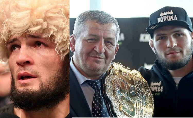 """""""There is no way I can continue fighting without my Father"""" Khabib Nurmagomedov, reveals why he is retiring from UFC."""