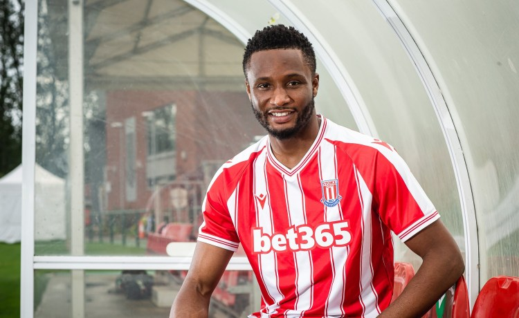 Mikel Obi Features for 90 minutes as Stoke city gets their first home win.