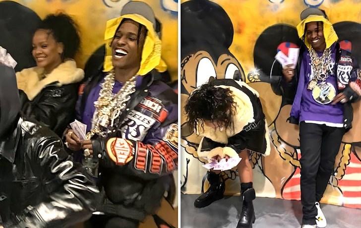 Rihanna, Now Dating A$AP Rocky, JotNaija