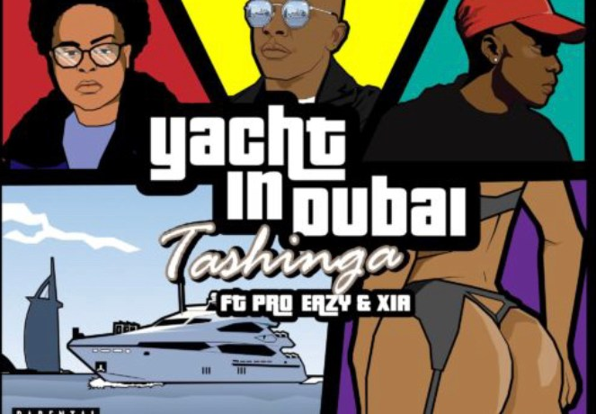 Tashinga – Yacht In Dubai, JotNaija