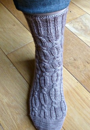 Jo Torr Belgravia Revisited socks