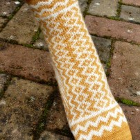 Jo Torr Jagged Edge socks