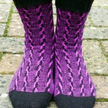 Jo Torr Walk on the Wild Side Socks