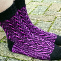 Jo Torr Walk on the Wild Side Socks