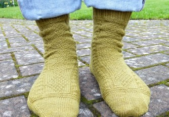Jo Torr Mama Westray socks