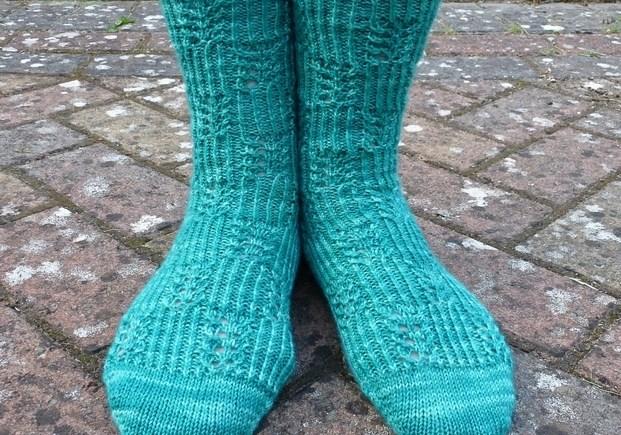 Jo Torr Maida Vale Japanese lace socks