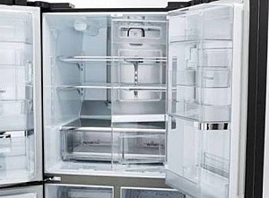 a fridge should be emptied first before cleaning the inside