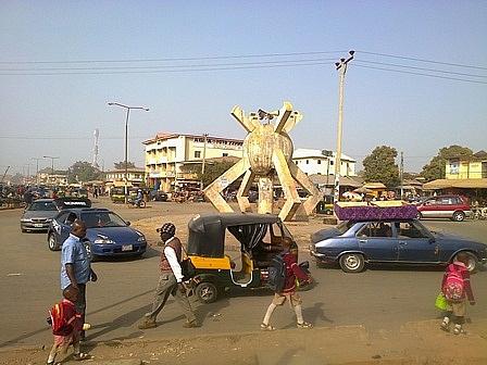 Old Bukuru Park near Terminus Market, Jos