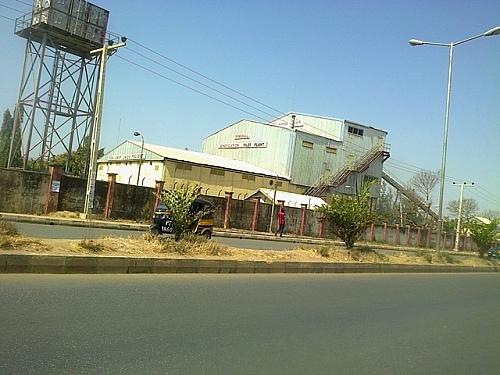 Mineral Beneficiation Pilot Plant of National Metallurgical Development Centre (NMDC) in Farin Gada