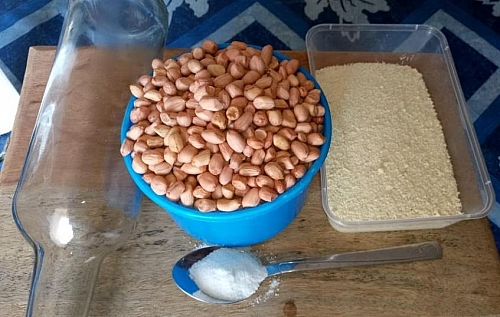 Roasted peanuts/ groundnuts ingredients