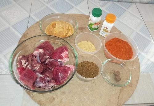 Beef sauce ingredients