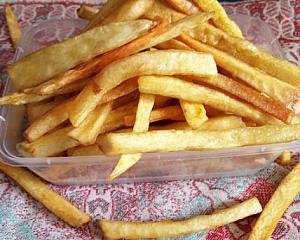 Photo of Easy Crispy Yam Chips Recipe for breakfast