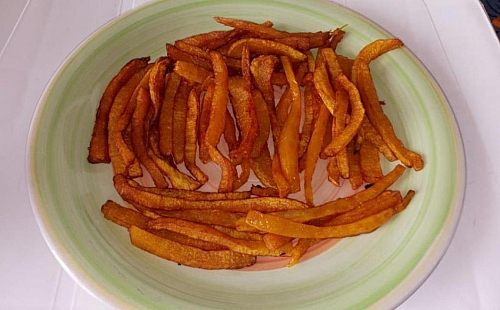 Photo of How To Make Savoury Fried Pumpkin Chips