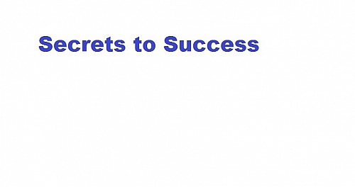Photo of The secret of my success - Secret to success and How to be Successful in Life