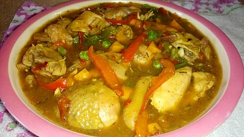 Photo of Curry Chicken Sauce Recipe: How to Prepare Curry Sauce For White Rice (Chicken Sauce with Mixed Vegetables)