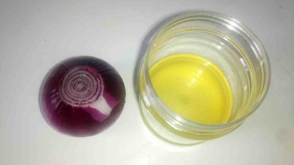 Making onion oil
