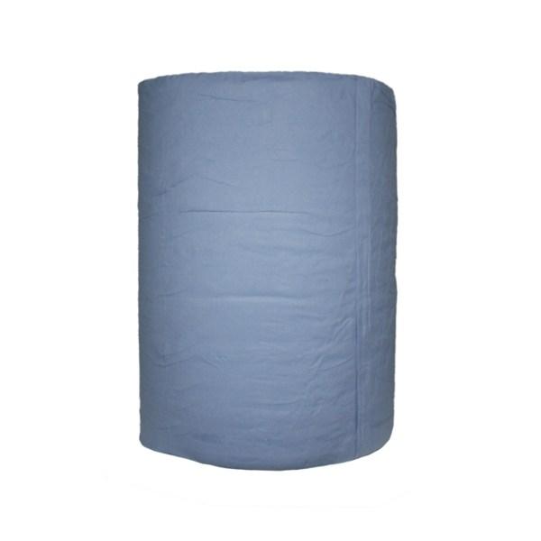 Blaue Papierrolle