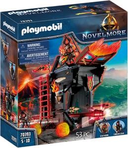 playmobil 70393 novelmore tour d attaque mobile des burham raiders