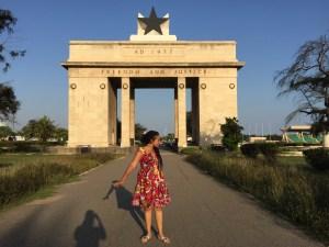 African American in West Africa. Jouelzy travel vlog to Ghana.