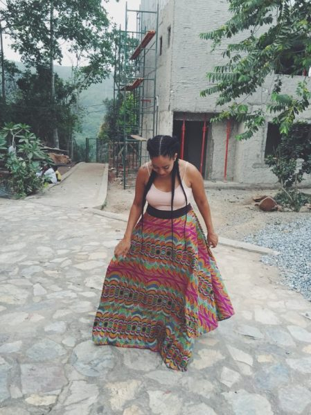 Jouelzy in Aburi Ghana. African American in West Africa. Travel vlog