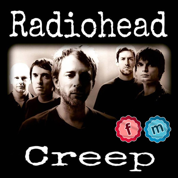 Pochette du disque creep radiohead
