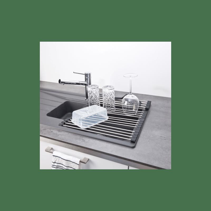 vaisselle et repose plats enroulable