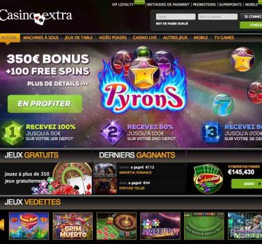 decouverte casino extra