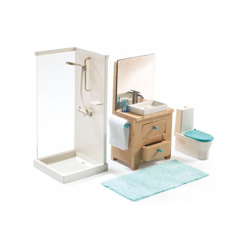 mobilier de maison meuble bureau ferme avec tablette rabattable lepolyglotte