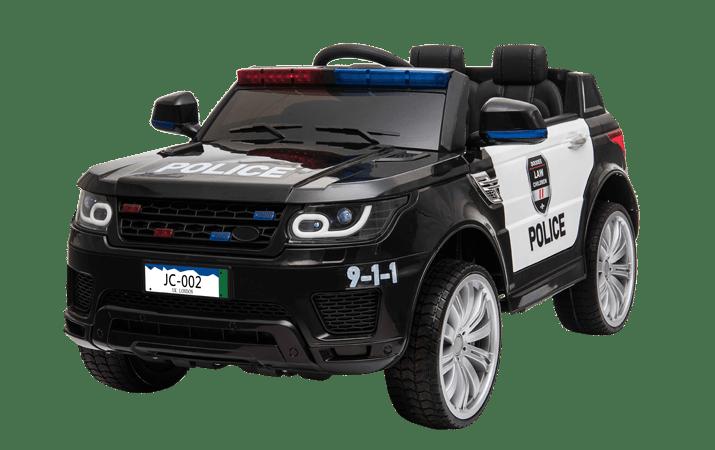 details sur voiture police 12v noir voiture electrique pour enfants
