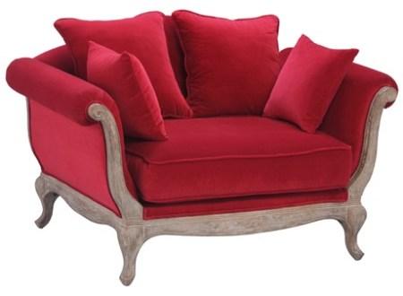 Canapé Love Seat Pompadour - source : http://maisondunreve.com