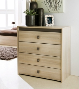 Design wooden chest of drawers