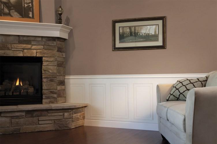 donner un effet neuf son lambris avec un rev tement mural journal d co. Black Bedroom Furniture Sets. Home Design Ideas