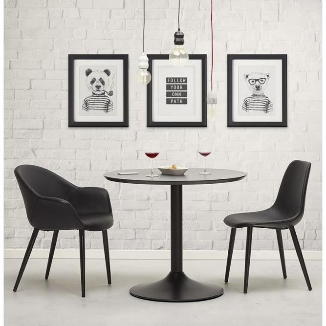 décoration meubles noirs