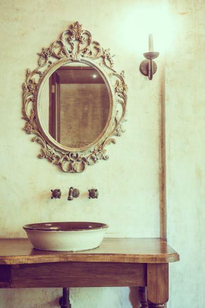miroir vintage pour salle de bain