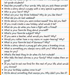 36 Writing Prompts for Second Grade • JournalBuddies.com [ 2061 x 736 Pixel ]