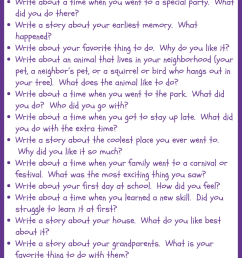 30 Narrative Writing Prompts for 1st Grade • JournalBuddies.com [ 2061 x 736 Pixel ]